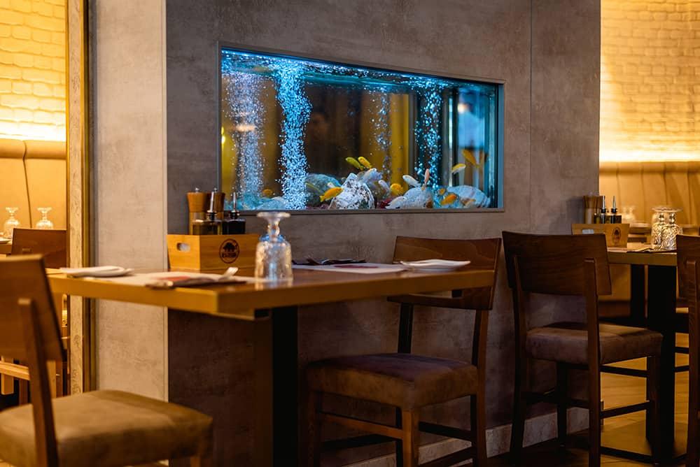 Fluid Rib & Steak House Malta Restaurant Inside